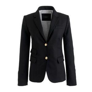 J. Crew School Boy Jacket Black